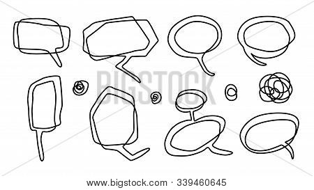 Balloon Comics Emotional Frame Contour Drawing Style