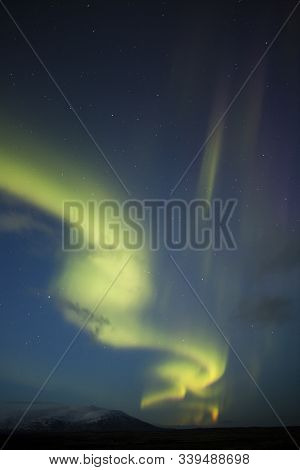 Auroras Are The Result Of Disturbances In The Magnetosphere Caused By Solar Wind. These Disturbances
