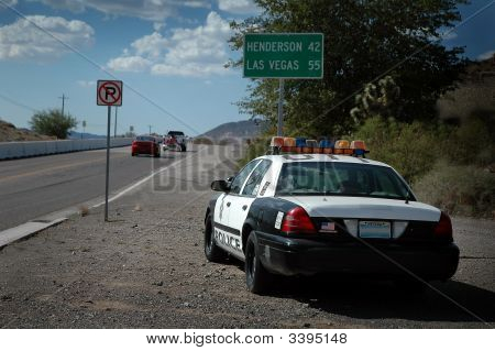 Nevada Speed Trap!