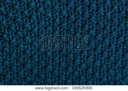Classic Blue Fabric Blank Of Canvas, Knitwear Texture, Fabric 2020 Fashionable Color Pattern For Clo
