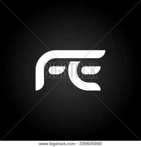 Initial Fe Letter Linked Logo. Creative Letter Fe Modern Business Logo Vector Template. Fe Logo Desi