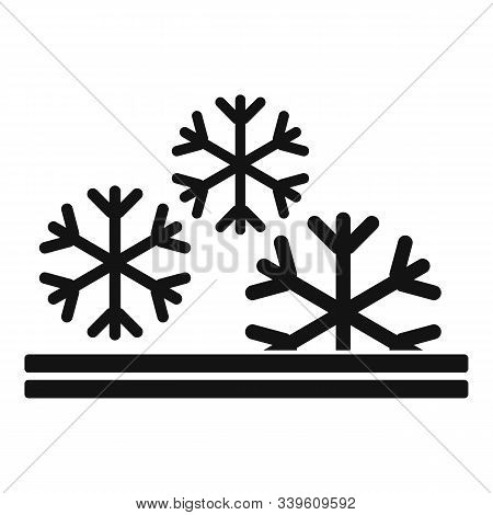 Winter Feature Icon. Simple Illustration Of Winter Feature Vector Icon For Web Design Isolated On Wh
