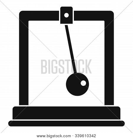 Gravitation Stand Ball Icon. Simple Illustration Of Gravitation Stand Ball Vector Icon For Web Desig