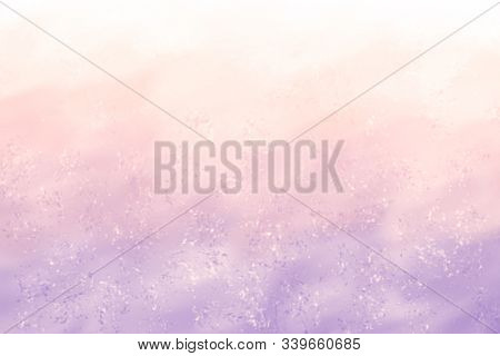 Abstract Purple Background Or Lavender Background Of Light Purple Color And Vintage Grunge Backgroun