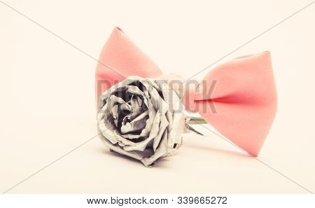 Fashion Accessory. Esthete Detail. Modern Formal Style. Vintage And Retro Style. Groom Wedding. Male
