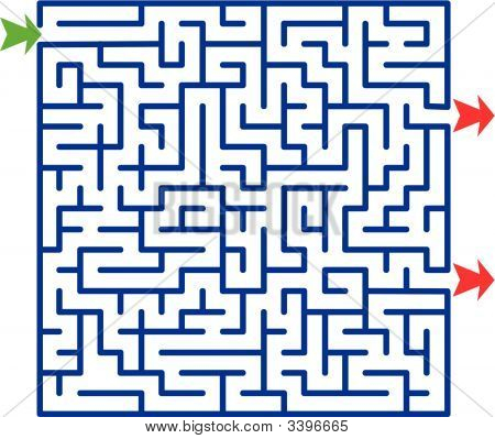 Lab1_Ok [P\770Eveden\775].Epsvector Illustration Of Maze