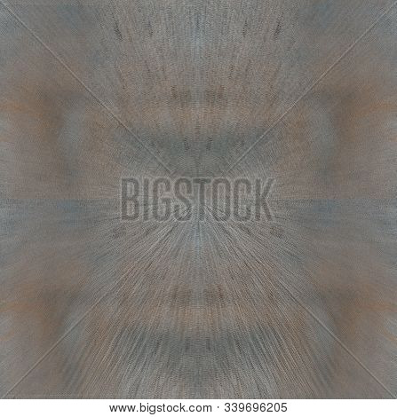 Abstract Windswept Background Of Gray, Blue And Brown With Textured Triangle Patterns.