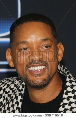 Will Smith at the Los Angeles premiere of 'Spies In Disguise' held at the El Capitan Theatre in Hollywood, USA on December 4, 2019.
