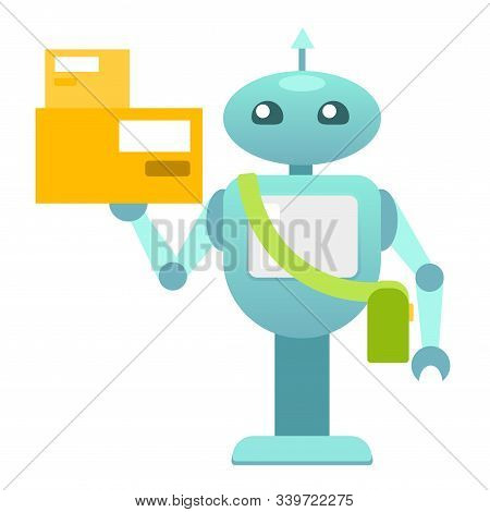 Robo Courier, Goods Delivery Machine, Delivery Robot, Service Robot, Electronic Machine, Personal Ro