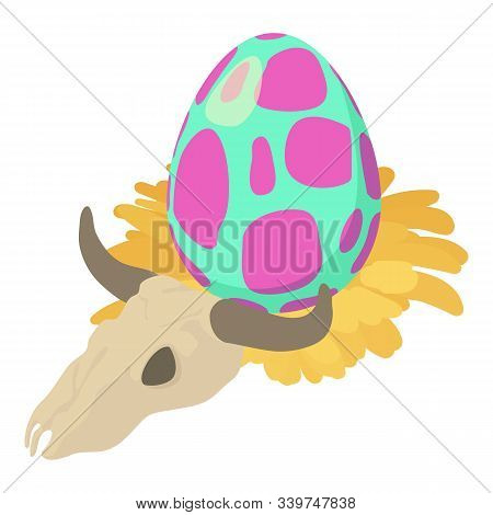 Prehistoric Period Icon. Isometric Illustration Of Prehistoric Period Vector Icon For Web