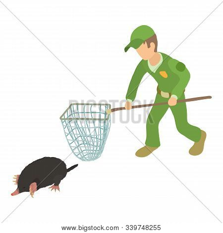 Fighting Pests Icon. Isometric Illustration Of Fighting Pests Vector Icon For Web