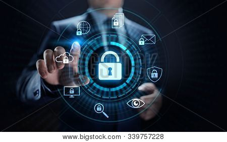 Cyber Security Data Protection Information Privacy Internet Technology Concept.