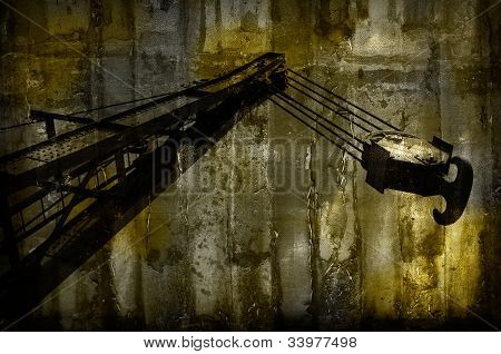 Abstract Construction Site Background