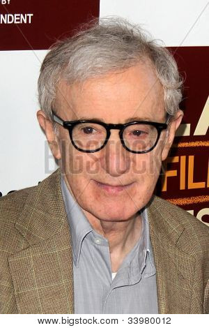 LOS ANGELES - JUN 14:  Woody Allen arrives at the