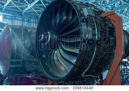 Gas Turbine Engine Is A Power Plant Of An Aircraft Industry.also Used In Oil And Gas Industrial Tech