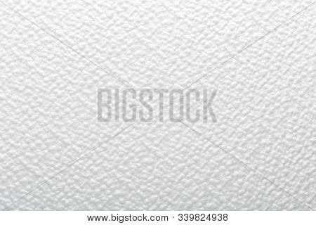 Abstract Texture Background. Wallpaper Light White Dotted Backdrop Material. White Waves Pattern For