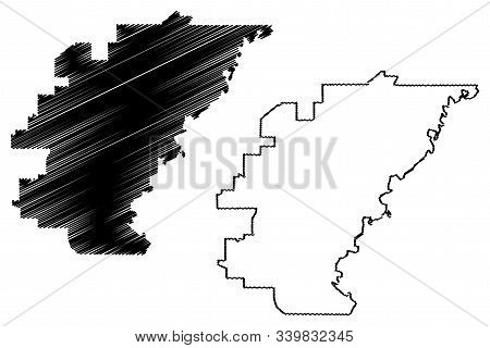 Jackson City (united States Cities, United States Of America, Usa City) Map Vector Illustration, Scr