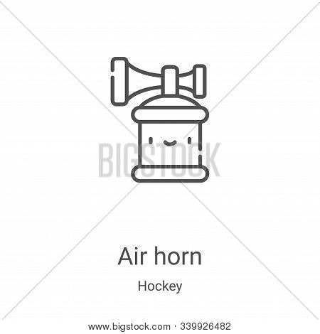 air horn icon isolated on white background from hockey collection. air horn icon trendy and modern a