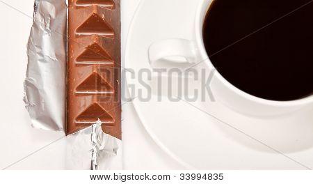 Silwer Wrapper Around Chocolate