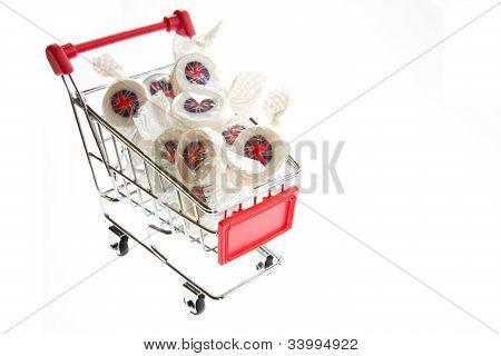 Union Jack Trolley