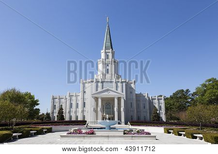 The Houston Texas Temple in Houston, Texas