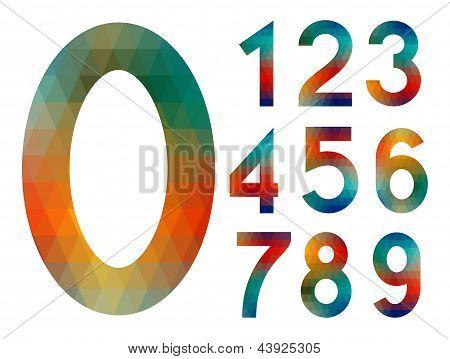 Mosaic Number Set