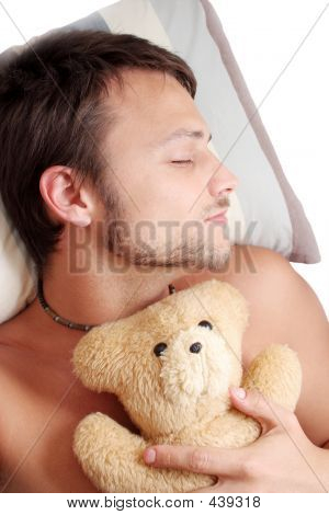 Bear Man Sleep