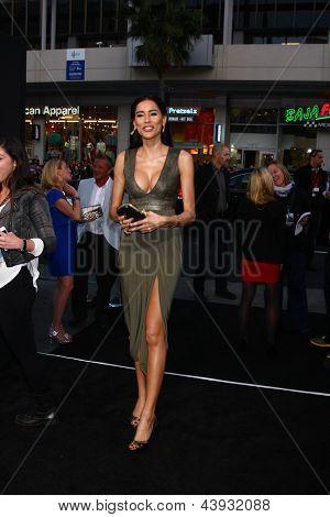 LOS ANGELES - MAR 28:  Rebecca Da Costa arrives at the