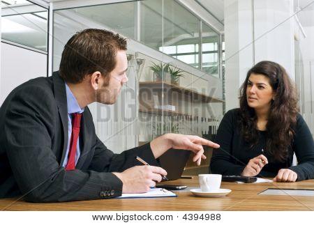 Interaction Between Colleagues