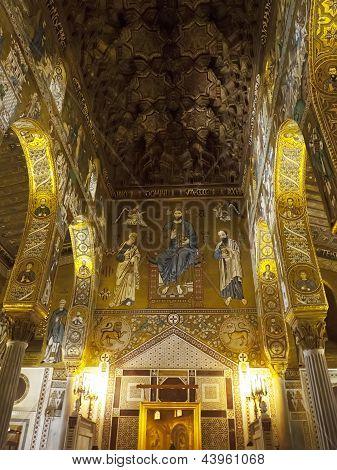 Palatine Chapel Decoration And Mosaic