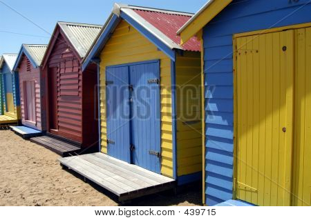Colorful Beach Houses