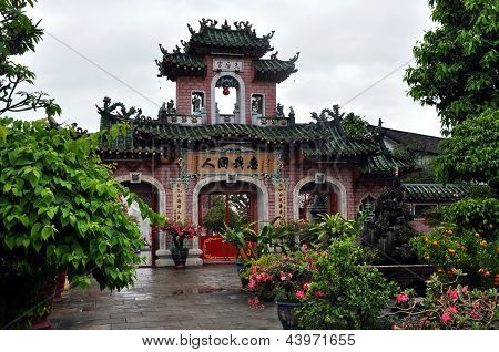 Chinese Assembly Hall gate, Hoi An, Vietnam