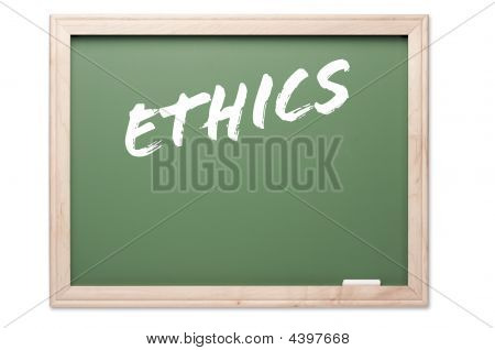 Chalkboard Series - Ethics