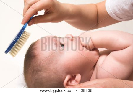 Comb And Baby