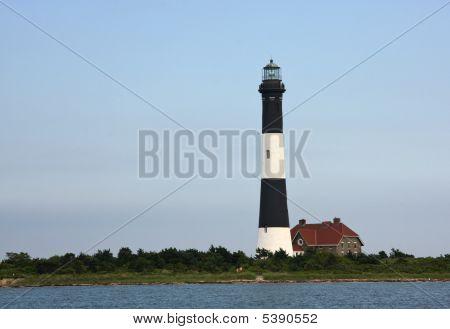 The Fire Island Light House