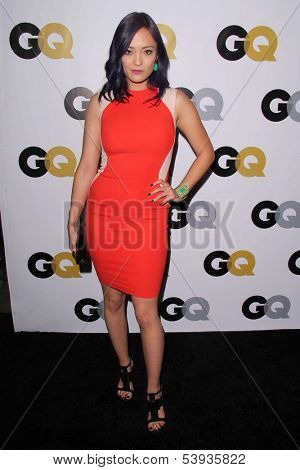 """LOS ANGELES - NOV 12:  Pom Klementieff at the GQ 2013 """"Men Of The Year"""" Party at Wilshire Ebell on November 12, 2013 in Los Angeles, CA"""