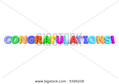 Colourful Congratulations