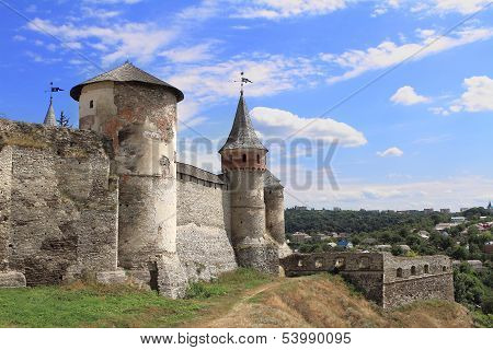 Fortress In Kamianets-podilskyi  In Ukraine