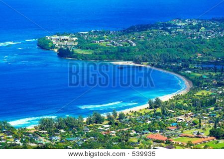 Hanalei Bay, Kauai, Hi