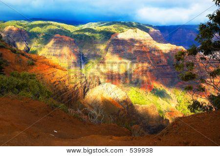 Waimea Canyon Kauai Hi
