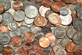 Background of American Coins