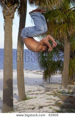 Beach Acrobat