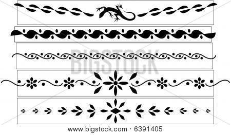 Decorative tattoo designs