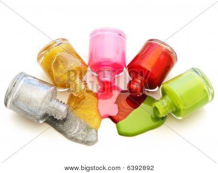 Multicolored Liquid Lacquer