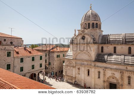 Cathedral of St James in Sibenik