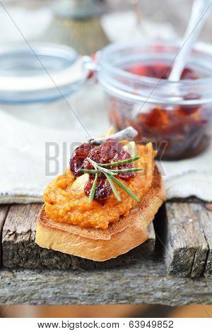 Bruschetta With Pumpkin