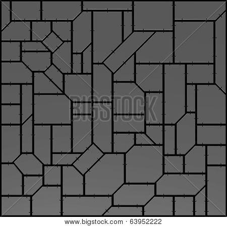 Dark Industrial Background