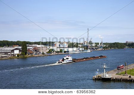 Coal Barge