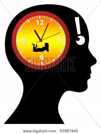 Biological Watch ticking