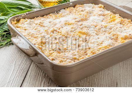 Baked pasta botched